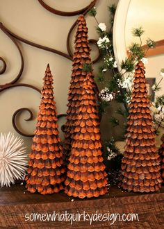 how to make a pine cone bract wreath, christmas decorations, crafts, how to…
