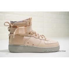 225a0b44fd5 Nike SF Air Force 1 Mid AA3966-800 Women Orange Quartz Pale Grey Skateboard  Shoes New Release