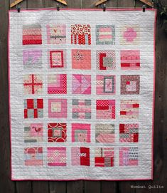 Tula Pink sampler block quilt by Cath Hall | Wombat Quilts. Tula Pink City Sampler blocks.