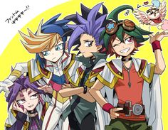 Arc v is a hobby, Zexal is a life