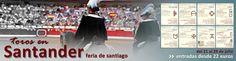 ¡Vive la feria de Santader! http://www.toroticket.com/136-entradas-toros-santander