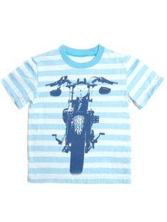 dda10b42c4031 Boys Kapital K Biker Graphic Tee. Summer 2015