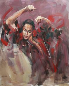 'Flamenco wg obrazu Fried Pala' 11/2008 Renata Brzozowska