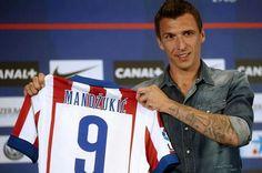 Mario Mandzukic, resmi bergabung bersama klub Spanyol, Atletico Madrid. Foto: www.liputan6.com