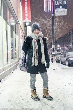 Mode de rue Streetstyle blog mode Montreal street style blog Azul Bari
