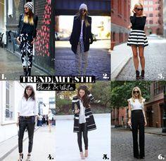 mitStil.net das Online Lifestylemagazin Mode Trend mit Stil Black&White Trends, Must Haves, Black And White, Fashion, Fashion Styles, Moda, Black N White, Black White, Fashion Illustrations