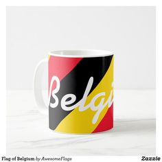 Flag of Belgium Coffee Mug