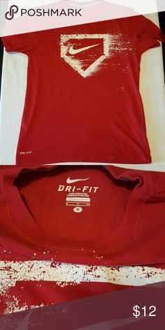 Nike Dry Fit t shirt Men's small Nike Dry Fit baseball themed tee shirt Nike Shirts Tees - Short Sleeve