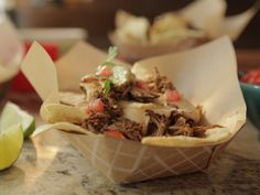 Pulled Pork Nachos Recipe : Damaris Phillips : Food Network - FoodNetwork.com