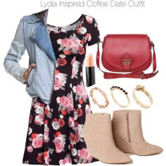 Lydia Inspired Coffee Date Outfit