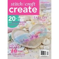 Find sewing, embroidery, felt, fiber, mixed-media, and more handmade gift projects in this issue of Stitch Craft Create #DealReveal | InterweaveStore.com
