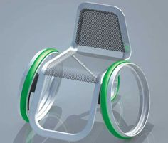 Hubless Wheelchair: Effortless commuting for the physically challenged   Designbuzz : Design ideas and concepts