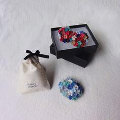 ネックレス 小花の花束 /「出迎えの香り」
