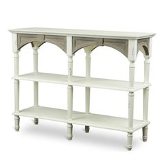 Touraine Wood Traditional French Accent Console Drapier