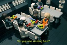 Even in Lego form Kylo Ren Undercover Boss is the funniest thingGreat pic by Lego master by lootcrate Kylo Ren Undercover Boss, Emo Kylo Ren, Brick Loft, Cool Lego, Awesome Lego, Lego Figures, The Force Is Strong, Great Pic, Lego Models