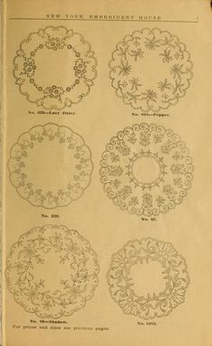 Embroidery hints: Fall and Winter 1910, some baby bib and baby cape patterns to embroider