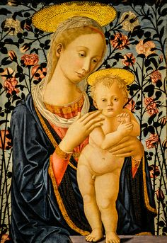 Fillippo Lippi (Follower of) - Madonna and Child, 1470
