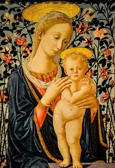 Fillippo Lippi (Follower of) - Madonna and Child, 1470