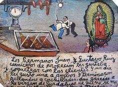 Братья Хуан и Густаво Руис были мясниками и любили заигрывать с посетительницами. Однажды одна клиентка приглянулась им обоим, и для братьев все закончилось дракой на ножах. Они благодарят Деву Гваделупскую за то, что они не убили друг друга и обещают обратиться за психологической помощью.