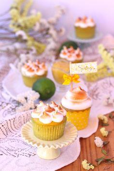 Cupcakes de Lima y Merengue