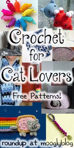 Free Crochet Patterns for Cat Lovers!
