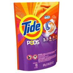 Tide Pods Spring Meadow Scent Laundry Detergent Pacs 35 Count