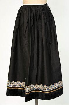 Ensemble Date: 1900–1964 Culture: French (Breton) Medium: wool, silk