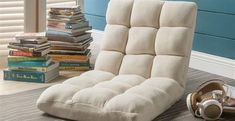 Our Loungie Micro-plush recliner chair is the perfect addition to any room.