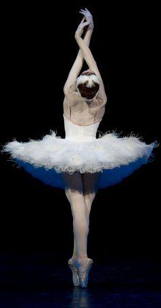 Irma Nioradze in The Dying Swan. Photo (c) Stas Levshin.