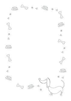 Snailmail briefpapier hond