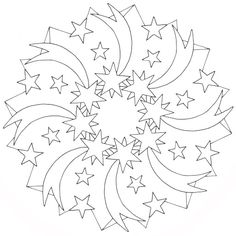 MANDALES NADAL 2 - Petitmón Recursos - Picasa-Webalben Space Coloring Pages, Pattern Coloring Pages, Coloring Book Art, Adult Coloring Book Pages, Printable Adult Coloring Pages, Christmas Coloring Pages, Mandala Coloring, Coloring Sheets, Christmas Colors