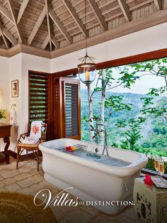 Point of View Villa at the Tryall Club in Montego Bay, Jamaica: http://www.villasofdistinction.com/villas/jamaica/point-view-at-tryall/ Located on the highest point at the renowned Tryall Club, Point of View sits on one of the most spectacular sites in the Caribbean … indeed, in the world.  #Caribbean #honymoon #villarentals #luxuryvillas