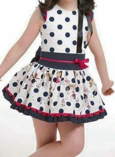 Little Girl Outfits, Girly Outfits, Little Girl Dresses, Kids Outfits, Baby Girl Dresses, Baby Dress, Cute Dresses, Toddler Fashion, Girl Fashion