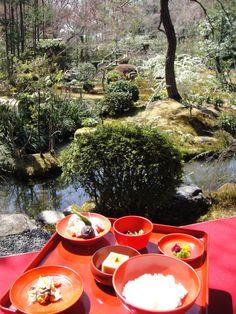 西源院の精進料理 (龍安寺内)ryoanji-kyoto