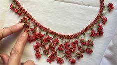 Diy necklace 509610514081282861 - Source by Seed Bead Tutorials, Beading Tutorials, Diy Schmuck, Schmuck Design, Bead Crochet, Crochet Necklace, Handcrafted Jewelry, Handmade Necklaces, Diy Jewelry