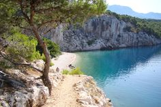 Nugal Naturistic Beach on the Makarska Riviera, Dalmatia, Croatia ✯ ωнιмѕу ѕαη∂у