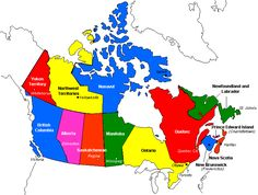 Political Map of Canada Political Geography, Geography Map, Canada Wall, Canada Eh, Metro Map, Map Skills, Free Maps, Garden Decor Items, Wall Maps