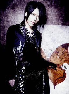 Yuu Shiroyama (Aoi, the GazettE) AOI-SAMA! YOU BEAUTIFUL MAN! ♡ω♡