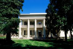Nashville's The Hermitage: home to President Andrew Jackson and wife Rachel Jackson