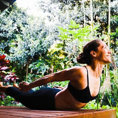 """There are far far better things #ahead than any we leave behind. #CSLewis   How to get more mojo in #Salabhasana ( #LocustPose ): 1. #exhale to engage your legs #inhale to lift everything you can up off the mat;  2. think """"lengthen"""" as you lift - reach your chest forward as much as you reach back through your legs.  Go ahead try it. What do you think?    Day 24 of the #Yoga4Growth #yogachallenge   Hosted by: @KoyaWebb and @LadyDork  Sponsored by: @AloYoga  @GetLovedUp  @ToeSox…"""