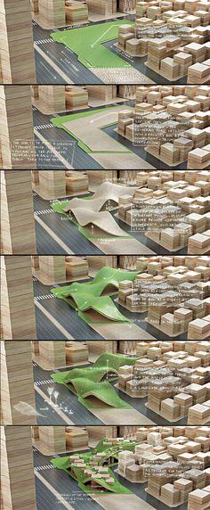 Maquette Center for Information Penda concept model architecture Architecture Graphics, Architecture Drawings, Architecture Portfolio, Concept Architecture, Landscape Architecture, Architecture Design, Highway Architecture, Architecture Diagrams, Landscape Model