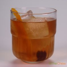Twisted Old-Fashioned by Michael Symon!