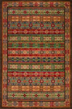 Tibetan Trellis (earth) - A Rug For All Reasons - Handmade Area Rugs