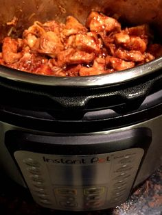 BBQ Chicken In The Instant Pot