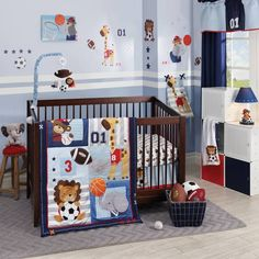 product image for Lambs & Ivy® Future All Star 4-Piece Crib Bedding Set