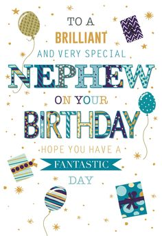 Birthday Message For Nephew, Happy Birthday Wishes Nephew, Birthday Greetings For Brother, Send Birthday Card, Birthday Wishes Flowers, Happy Birthday Wishes Images, Birthday Wishes For Myself, Birthday Wishes Funny, Happy Wishes