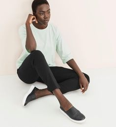 Shop women's casual clothing that effortlessly combines timeless, elegant lines with eco-friendly fabrics from EILEEN FISHER. Sophisticated Style, Elegant, Fair Trade Clothing, Eileen Fisher, Classic Style, Organic Cotton, Capri Pants, Normcore, Silk