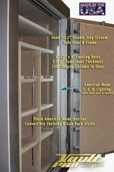 Safe security and convenience features