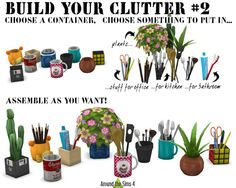 Sims 4 CC's - The Best: Build Your Clutter Set by Around the Sims 4