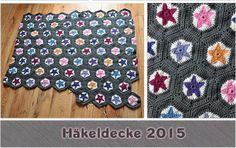 Dodoloves...: Häkeldecke Tutorial halbes Hexagon